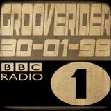 GROOVERIDER @ BBC RADIO1 - 30/01/98