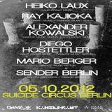 Alexander Kowalski @ Damage Music Label Night - Suicide Circus Berlin - 05.10.2012