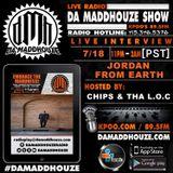 Jordan from Earth calls into Da Maddhouze on K.P.O.O 89.5 FM