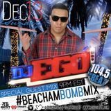 DJ EGO- 104.5 THE BEAT: BEACHAM BOMB MIX 13 DEC 2015 (CLEAN)