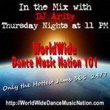 Dj Arity for Worldwide Dance Music Nation Radio - 06/27/2013