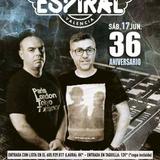 33 aniversario de la discoteca Espiral (Vlc) set de Edu Gomez - Dj Veneno 17-6-2017