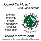 Connemara Community Radio  - 'Hooked On Music' with John Duane - 4dec2017