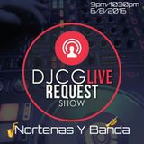 DJCG LIVE REQUEST SHOW 6/8/16! ON FACEBOOK LIVE! 830PM/10PM MT