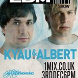 068 The EDM Show with Alan Banks & guests Kyau & Albert