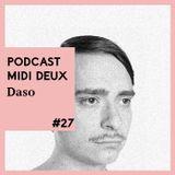 Podcast #27 - Daso - Live [Flash Record]