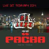 DJ Lexx Live at Pachita NYC Feb 2014