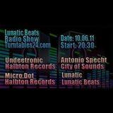 Antonio Specht Live @ Lunatic Beats 10.06.2011 (Part 1)