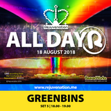 Set 5 | 18.00 - 19.00 | Greenbins | Rejuvenation | All Dayer 2 | 18.08.18