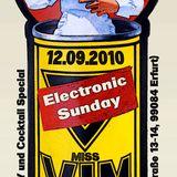 12-09-10 Electronic Sunday mit Miss Vim