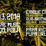 55 Sound System & Dub Brotherhood feat Papa Ricky & Uruman @ Lido Pola Napoli part 2