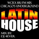 Latin House Mix WCRX 88.1 fm Mix