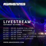 Carl Cox - Live @ Awakenings X Joseph Capriati Presents ADE [10.19]