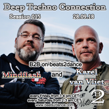 Deep Techno Connection Session 015 (with Karel van Vliet and Mindflash)