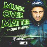 Music Over Matter 070, Incl. Jackob Rocksonn Guestmix
