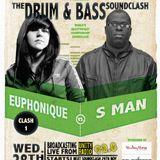 UnityRadio 92.8FM Drum & Bass soundclash round 2 Euphonique vs Sman