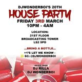 @DJWonderboi 20th Birthday Party Official MIx