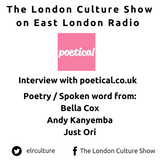 Poetical.org.uk launch night & poetry from Bella Cox, Andy Kanyemba & Just Ori