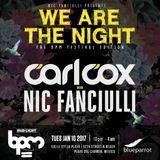 Carl Cox b2b Nic Fanciulli - Live @ Blue Parrot The BPM Festival (Mexico) 2017.01.10.