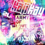 Army of Love VS. Railways VS. 2U - KAJIKAY MASH  UP