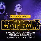 Drumsound & Bassline Smith - Live & Direct #18  Vinyl Mix (27-12-16)