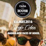 Sergio Cobos @ LA CASA DEL HOUSE (Café La Palma) 06-05-16
