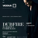 Dubfire Live @ Vicious Live, Madrid, Spain September 2015