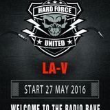 HFU and Friends Spring Session 2016- LA-V Set Hardstyle Stage