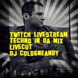 #Twitch #Techno #Livestream #Livecut around #Drumcode by #Cologneandy #Frechen #Technofamily #Plur
