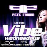 DJ Pete Fabian LIVE from VIBE @ Last Supper Club 11-14-12