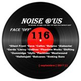 "Noise r'us # 116 ""face off"" (Septembre 2017) 100% noise rock 2017 Vol.#2"