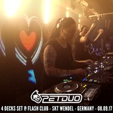 PETDuo 4 decks set @ Flash Club - Skt Wendel - Germany - 08.09.17