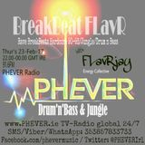 BreakBeat FLavR's with FLavRjay on PHEVER Radio