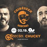 2018.02.19. - CSIBÉSZEK (Szecsei Extended Set) - VOLT Lokál, Budapest - Monday
