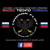 Live at RTN Facebook Live September 2nd 2018 CET 20:00-21:00  //Tropar Flot