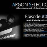 Argon Selection - Episode 033 - LiveMix & Select by Andrea Argon