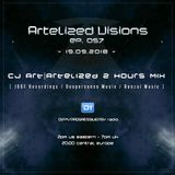 Artelized Visions 057 (September 2018) with CJ Art ][ Artelized 2 Hours Mix on DI FM