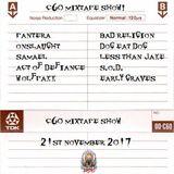 Hard Rock Hell - The C60 Mixtape Show 21st November 2017