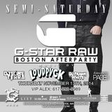 Padei Shock #8: G-Star Raw Party and Afterparty Sets | Dec 13th 2014
