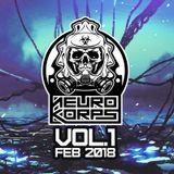 [NEUROKORPS] Neurofunk Mix Vol.1 Feb. 2018