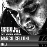 Marco Celloni - Deep & Sensual [105] - 27/02/2017