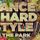 Dance & Hardstyle at the park / future house stage 05-09-15