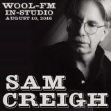 Sam Creigh, WOOL-FM in-studio