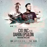 Darin Epsilon & Cid Inc - Live The Bow 17/06/17 MEBA