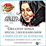 Aretha Franklin Tribute mixshow by DJ Superjam on KISS FM