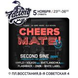 Live @ Cheers mate / Factory Club, Spb, Russia 05-11-2016