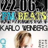 PM Beats am 22.06.12 mit Chris Wächter & KARLO WEINBERG (mirco.fm / LHC) @ RauteMusik.fm