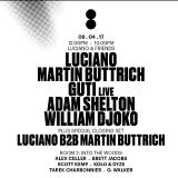Martin Buttrich - Live @ Printworks, Luciano & Friends (London, Uk) - 08.04.2017