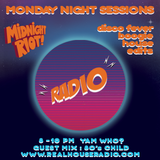 Midnight Riot Radio - Mon 3rd April - Special guest mix 80s Child and resident host Yam Who?