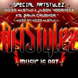 Noize Mastah & Jason Voorheez vs. Brain Crusher - Thrillogy
